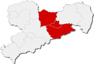 Landkarte dresden - Oberes Elbtal
