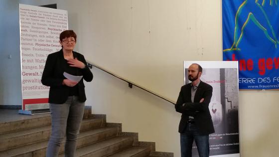 Dr. Cornelia Ernst und André Schnabel