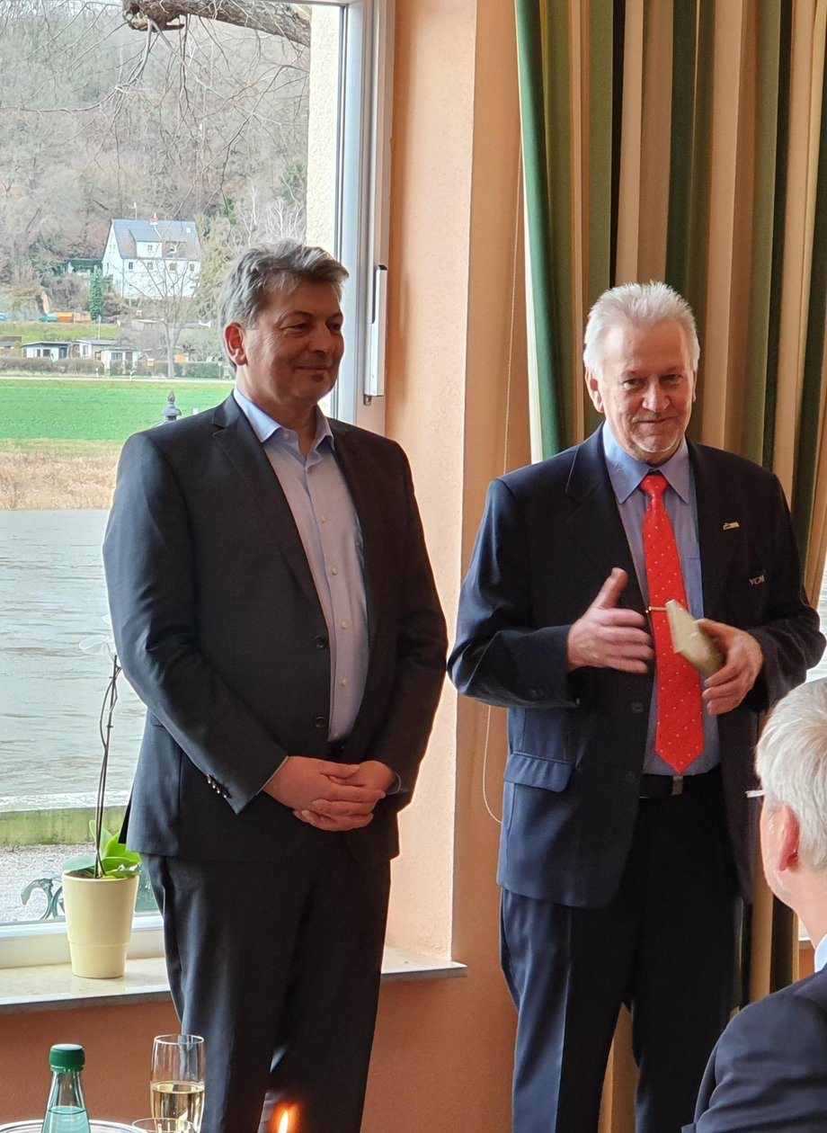von links: LR A. Steinbach; D. Damaschke