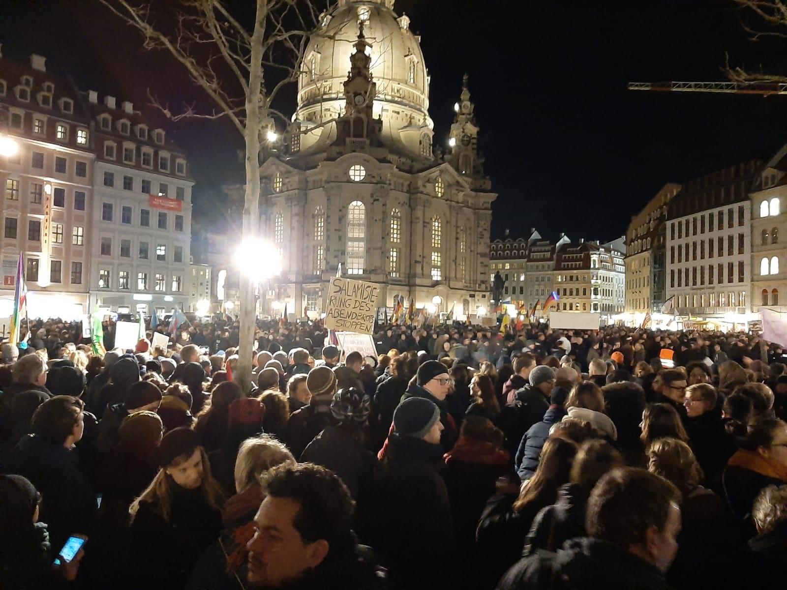 Anti-Pegida-Demo 17.02.2020