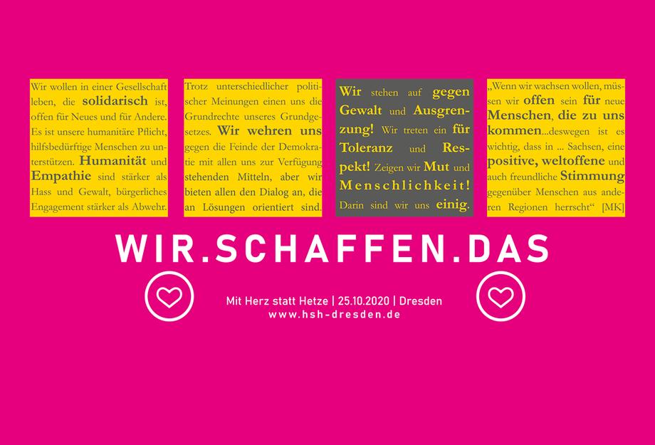 Flyer - WIR.SCHAFFEN.DAS