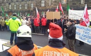 Tarifbewegung Dresden