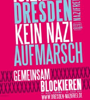 Button von Dresden Nazifrei