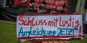 Der Aktionstag der IG Metall Dresden am 13.4.2021