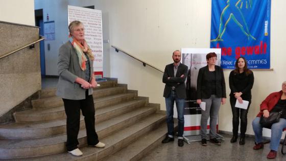 Dr. Heidi Becherer, DGB Sachsen