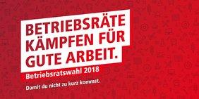 Logo DGB Betriebsratswahl 2018 - Betriebsräte kämpfen für gute Arbeit