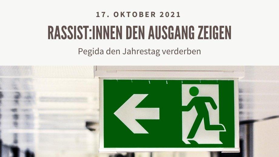 Aufruf zu Gegenkundgebung am 17.10.2021