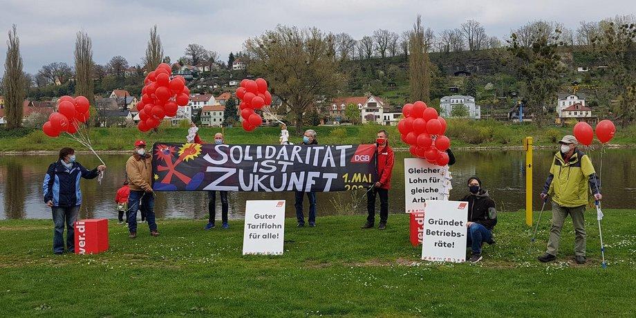 Der Vorstand des KV Sächsische Schweiz-Osterzgebirge.