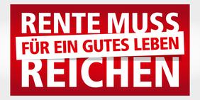 Logo DGB-Rentenkampagne