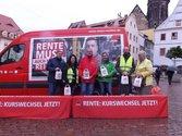 Rentenkampagne in Pirna am 19.09.
